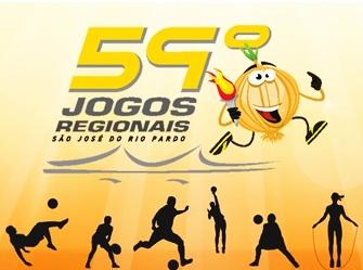 59º Jogos Regionais de São José do Rio Pardo