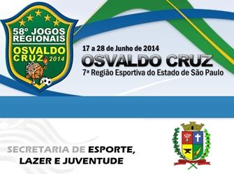 Jogos Regionais de Osvaldo Cruz