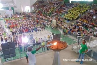 Santos/SP - Jogos Abertos dos Idosos 2013