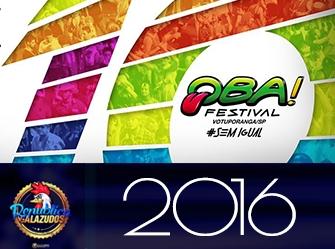 Carnaval de Votuporanga/SP 2016 - 10 anos de Oba!